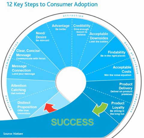 12 Key Steps to Consumer Adoption